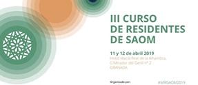 III CURSO DE RESIDENTES DE SAOM